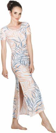 286f32c44b Sukienka Palermo wzór w liście 42 Polski producent Allegro