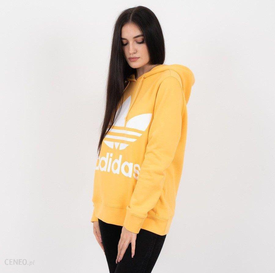 Bluza damska adidas Originals Trefoil DH3138 ŻÓŁTY Ceny i opinie Ceneo.pl