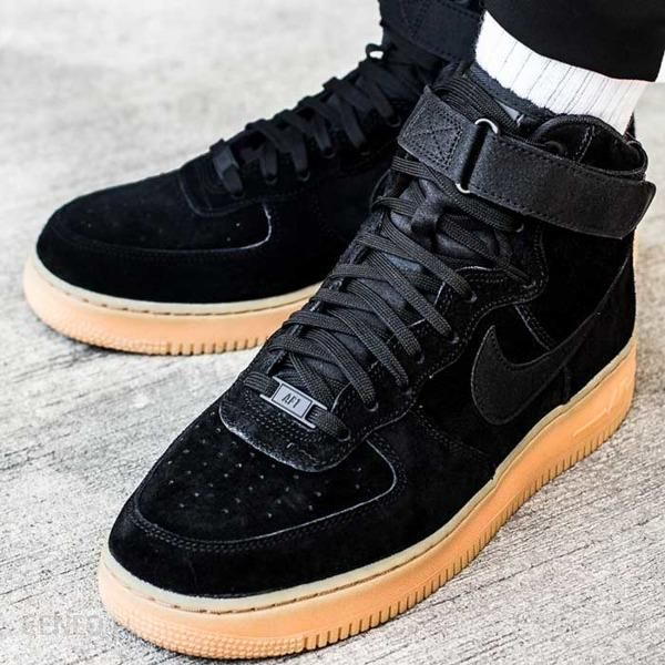 AIR FORCE 1 HIGH 07 LV8 SUEDE Sneakersy wysokie Nike