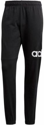 Spodnie adidas Essentials Tapered French Terry czarne BK7433