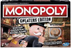 Gra planszowa Hasbro Monopoly Cheaters Edition E1871