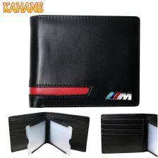 8040e6167ae3f AliExpress KAHANE Prawdziwej Skóry Posiadacz Karty Kredytowej Portfel  Mężczyzn Portfel Kierowcy Licencji Samochodu dla BMW E46