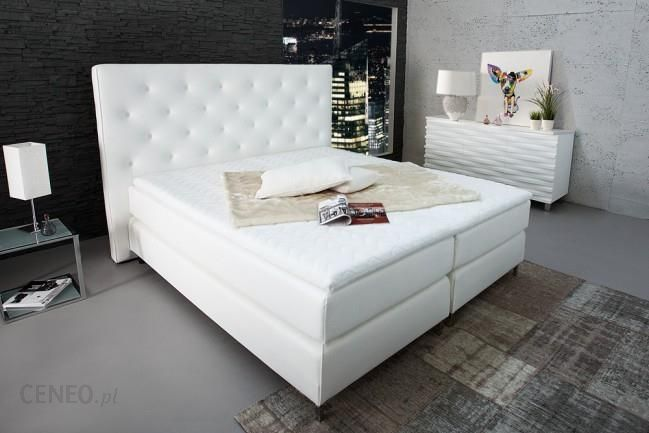 Eleganckie łóżko Do Sypialni 180x200 Cm Prestige Białe Opinie I Atrakcyjne Ceny Na Ceneopl