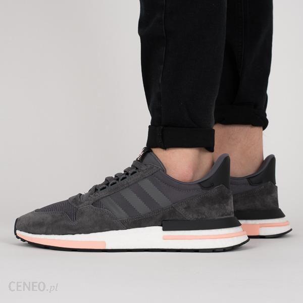 22b83e59e89c Buty męskie sneakersy adidas Originals ZX 500 RM B42217 - Popielaty ...