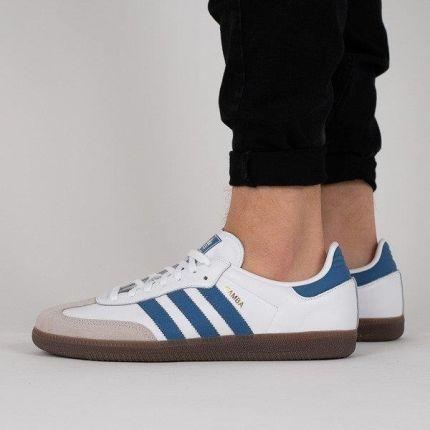 new style eeec8 d9ad0 Buty męskie sneakersy adidas Originals Samba OG B44629 - BIAŁY