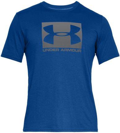 Koszulka męska, t-shirt Boxed Sportstyle Under Armour (niebieska) - Ceny i opinie T-shirty i koszulki męskie COKU