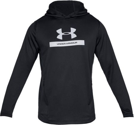 Bluza męska MK-1 Terry Graphic Hoodie Under Armour (czarna) 90db5f167d