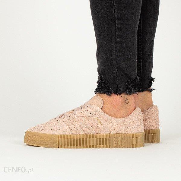 Buty damskie sneakersy adidas Originals Sambarose W B37861 RÓŻOWY Ceny i opinie Ceneo.pl
