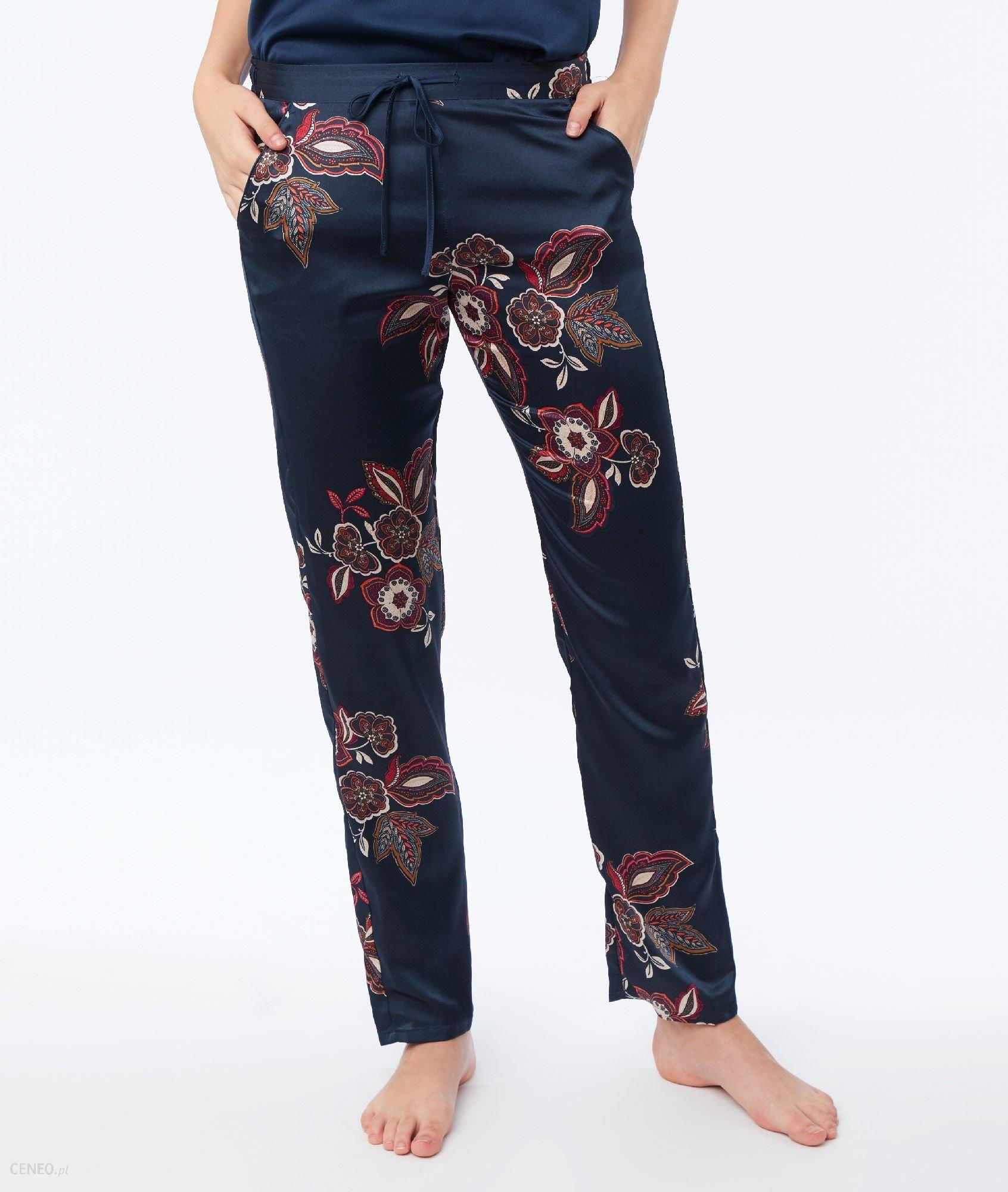 c878de3ebbef Etam Satynowe spodnie od piżamy - CELESTE - Ceny i opinie - Ceneo.pl
