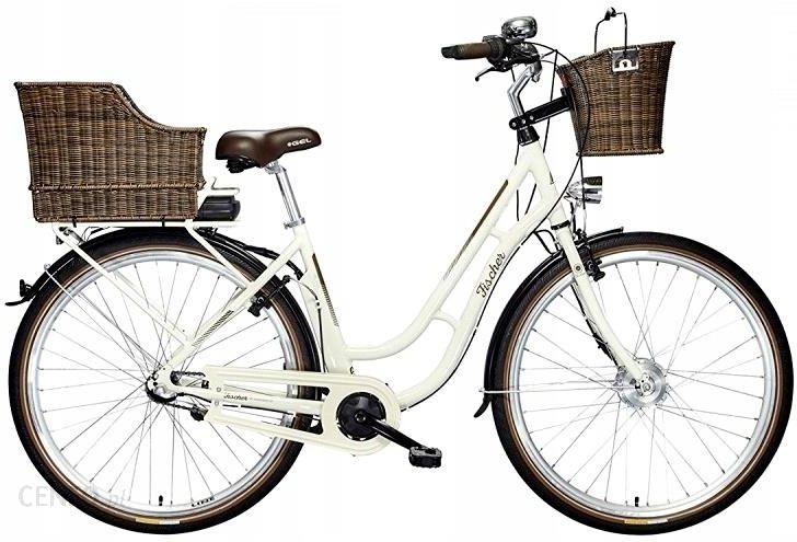 Produkt Z Outletu Rower Elektryczny Miejski Damski Fischer Biały Er