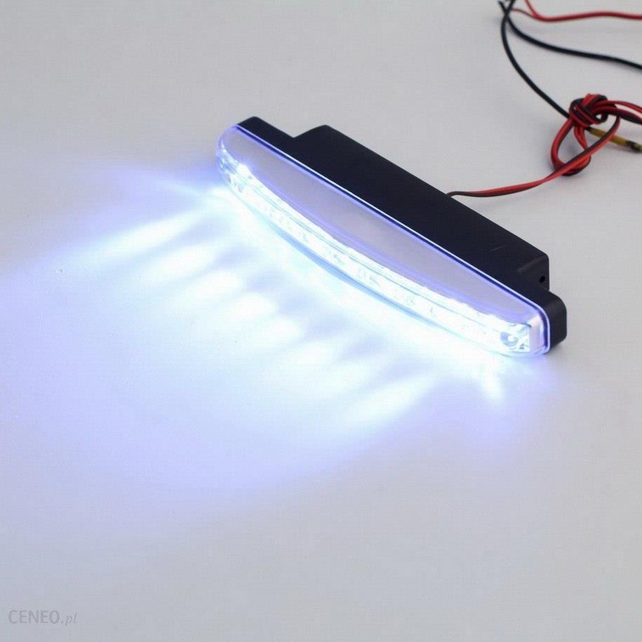 Aliexpress 2x8 żarówka Led Super Bright Samochodów Do Jazdy Dziennej Drl światła Dzienne Lampy Głowy New Arrival Ceneopl