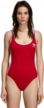 Body damskie adidas Originals 3 Stripes Body DN8143 - CZERWONY