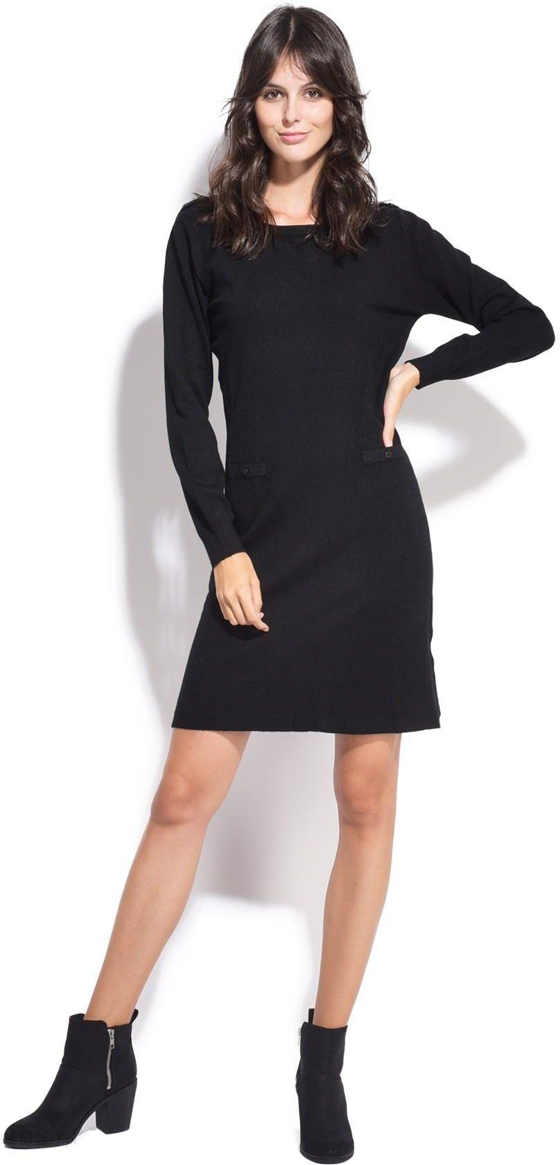5c27f3483e William de Faye sukienka damska XXL czarny - Ceny i opinie - Ceneo.pl
