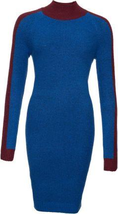 fcca2ac1c8 Sukienka dzianinowa niebieski 48 50 4XL 5XL 928889 - Ceny i opinie ...