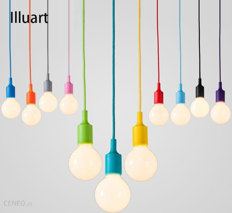 Aliexpress Kolorowe Lampa Wisząca E27 Gniazdo żarówki Edison Led Oprawa światła Wisiorek światło Lampy Wiszące Lampy Podstawa Uchwytu Uchwyt Silikonow