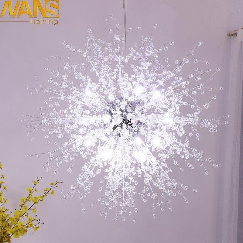 Aliexpress Nans Nowoczesne Lampy Led Próżność Cristal Sztuczna