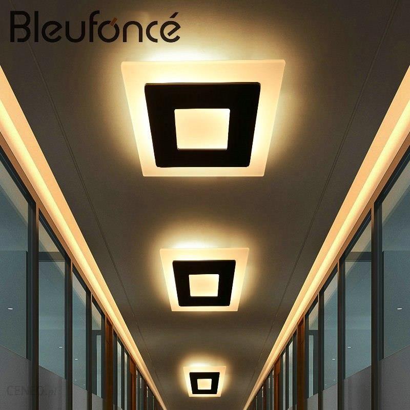 Aliexpress Lampa Led światła Sufitowe Nowoczesne Proste Aluminium Akryl Home Decor Lampy światła Sufit Sypialnia Pokój Dzienny Przedpokój Oświetlenie