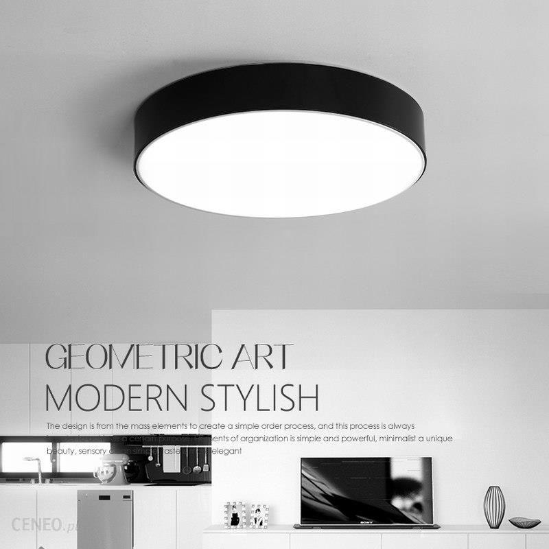 Aliexpress Oświetlenie Sufitowe Led Okrągłe Kwadratowy Panel Led światła Led Panel Z Aluminium Oprawa Natynkowa Sufitu W Dół Lampa Dla Pokoju Gościnne
