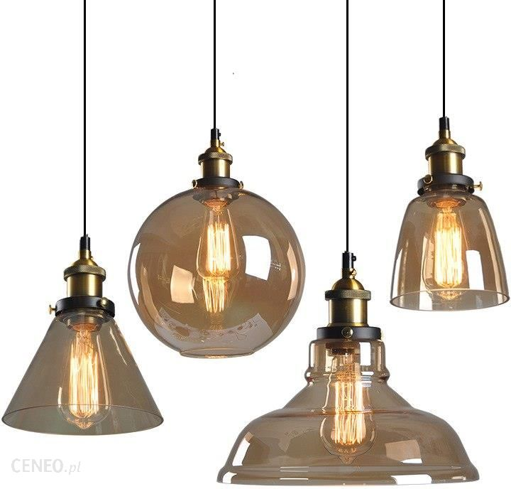 Aliexpress Vintage Wisiorek światła Retro Szkło Wiszące Lampy Rosja Loft Oprawa Nowoczesna Kuchnia Jadalnia Sypialnia Lampa Wisząca E27 Oprawka