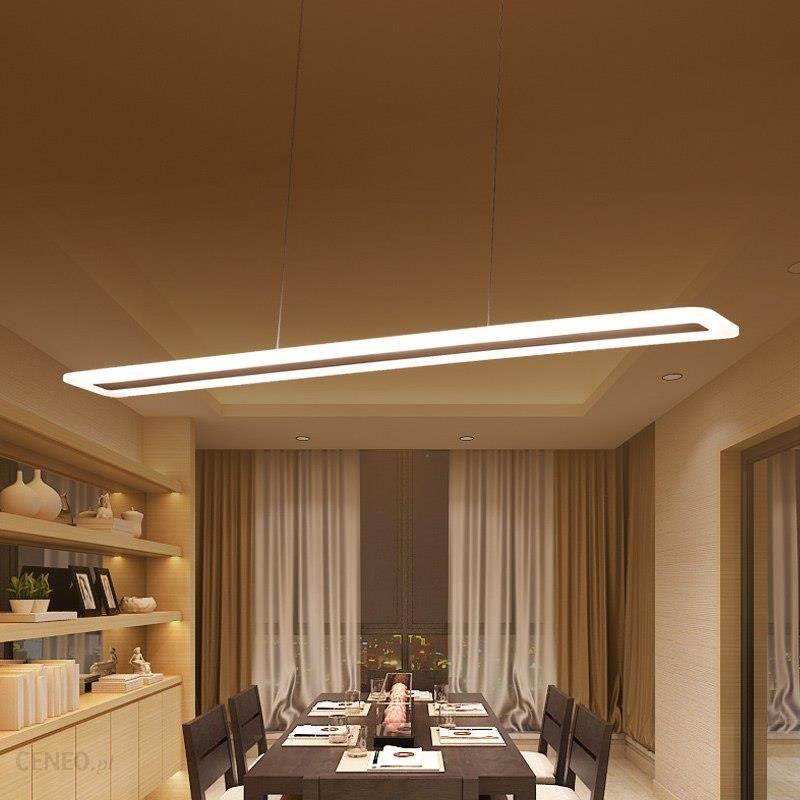 Aliexpress Nowoczesne Led Zawieszenie Wisiorek światła Taśmy Pleksi Wisiorek Oświetlenie Domu Lampy Dla Kuchnia Jadalnia Lampy Lustre Oprawa