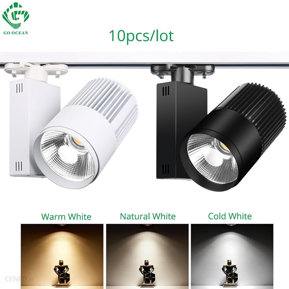 Aliexpress Tor światła Led 40 W Cob Rail Spot Lampa Butów Odzież Sklep Sklep Oświetlenie Szyny Aluminium Showroom Spotlight 2 34 Drutu 3 Fazy