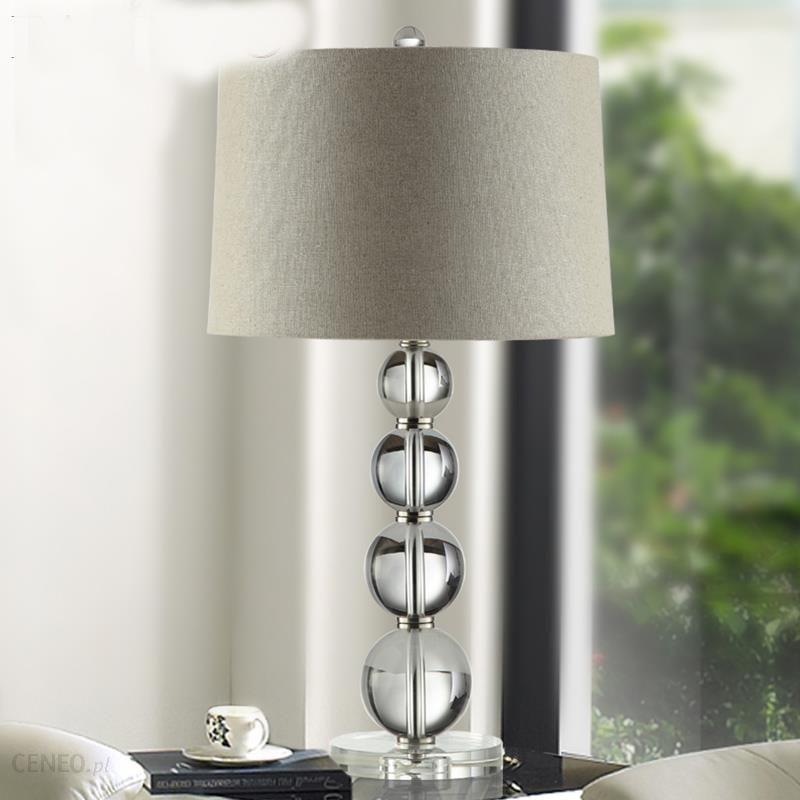 Aliexpress Nowoczesne Przezroczyste Sypialni K9 Kryształ światła Lampy Stołowe Biurko Nocna Standardowe Oświetlenie Salonu Lamparas De Mesa 110 240 V