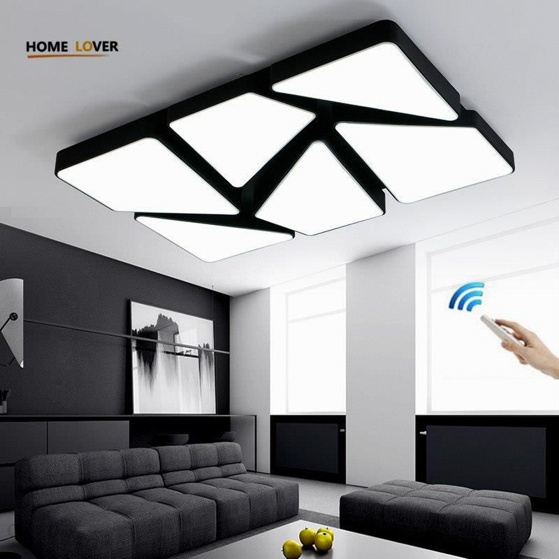 Aliexpress Nowy Akrylowe Nowoczesne Led Plafon Led Oświetlenie Domu Lampy Sufitowe Do Salonu Sypialni Oświetlenie Domu Lampy Sufitowe Oprawy Oświetlen