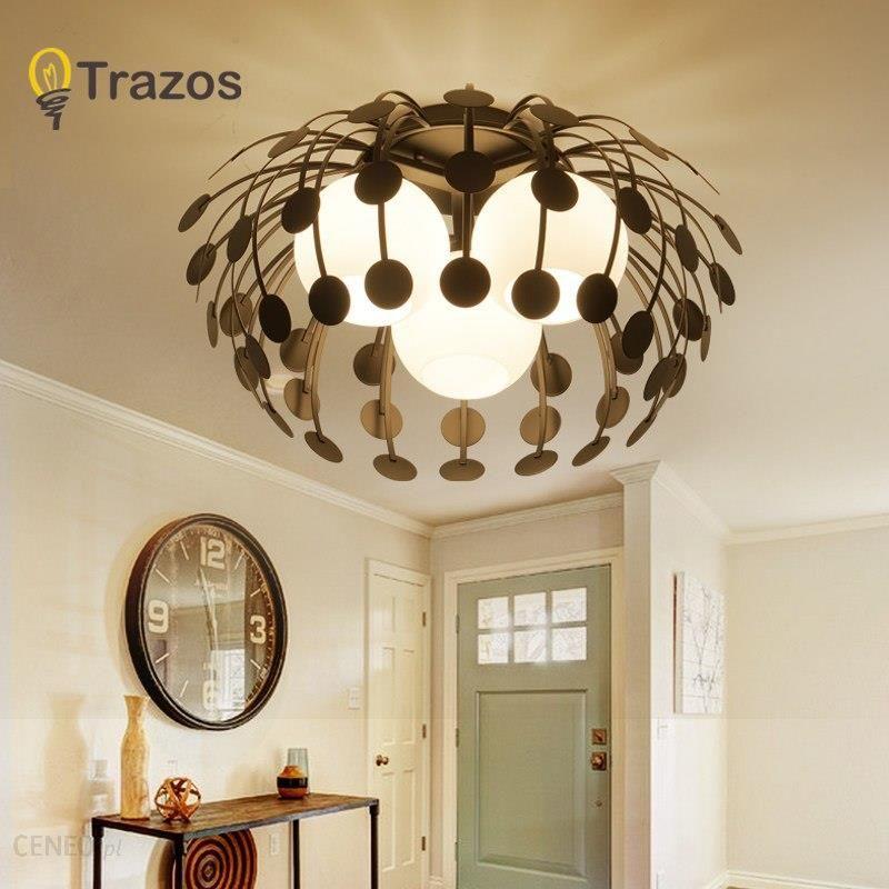 AliExpress Nowoczesne LED SimpleCeiling Światła Lampy Do Salonu Lustre Lampy Sufitowe Sufitowe piękne latarnia Oprawy Sufitowe Ceneo.pl