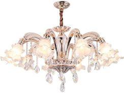 Aliexpress Nowoczesne żyrandole Kryształowe Oświetlenie Led Złota