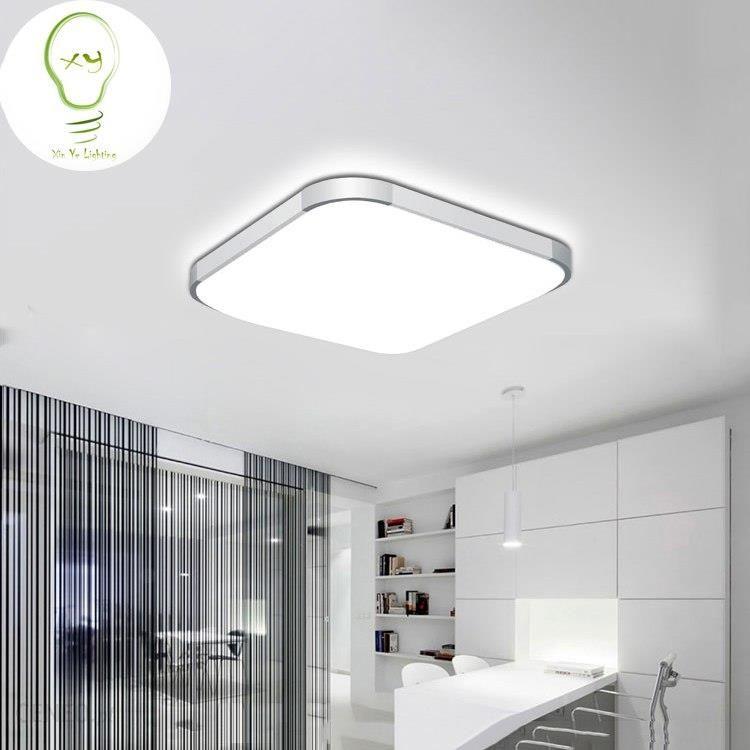 Aliexpress 5 Off 2018 Nowoczesne Apple Oświetlenie Sufitowe Led Kwadratowych 24 W 30 Cm Doprowadziły Lampa Sufitowa Kuchnia światła Sypialni Nowoczes