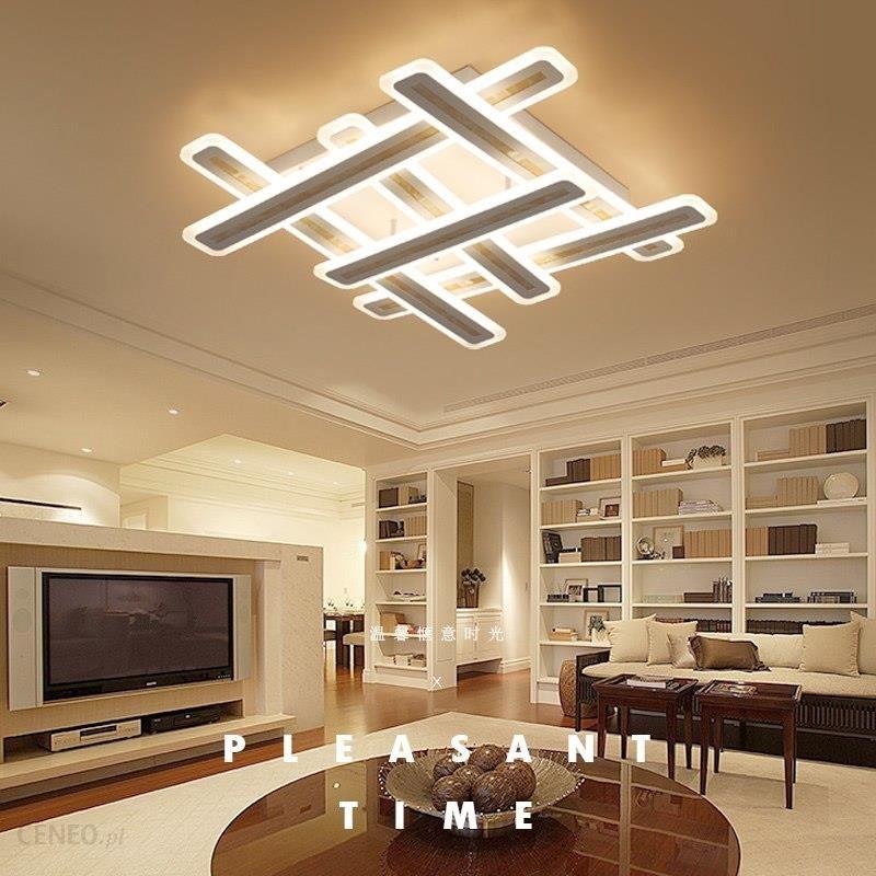 Aliexpress Nowy Projekt Prowadzony światła Sufitowe Nowoczesne Okna Kształt Akrylowe Doprowadziły Lampy Sufitowe Do Salonu Sypialni Oświetlenie Led Na