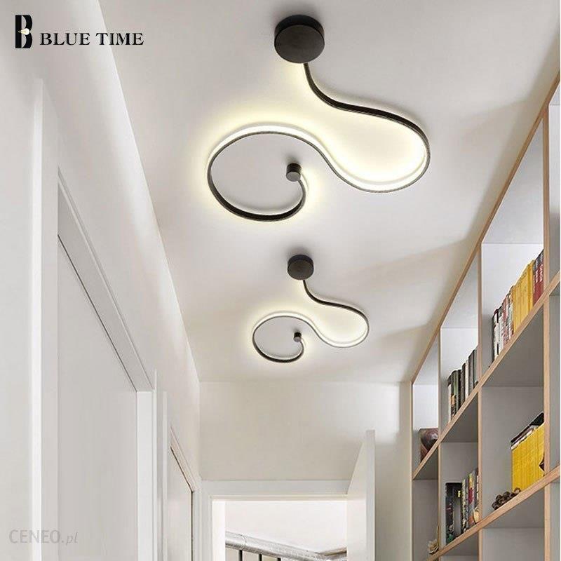 Aliexpress Nowoczesne Proste Home Oświetlenie Sufitowe Led Twórcze Doprowadziły Lampy Sufitowe Do Salonu Sypialnia Lampki Nocne łazienka Oprawy Czarny