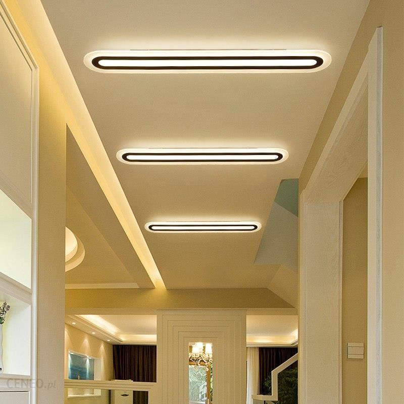 Aliexpress Doprowadziły Sufitu Biurowe Nowoczesne Minimalistyczny Pokój Dzienny Sypialnia Korytarz Korytarz Prostokątna Kreatywne Lampy Lampy Sufitowe