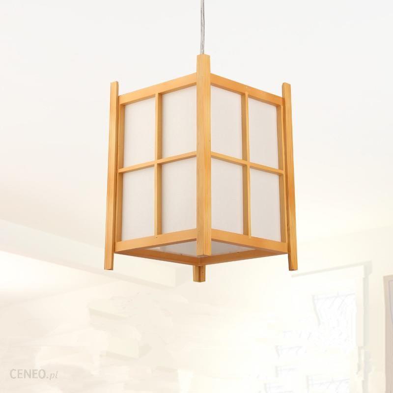 Aliexpress Nowoczesne Japoński Lampa Wisząca Washitsu Tatami Decor Drewniane Lampy Dla Restauracja Przedpokój Salon Japonia Oświetlenie I Latarnia