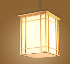 Aliexpress Japoński Wisiorek światła Kuchnia Washitsu Tatami Decor Wisiorek Lampy Restauracja Salon Przedpokój Oświetlenie I Lampy Projekt Domu