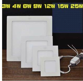 Aliexpress Nowy Przyjeżdża Dhl Darmo Doprowadziły Panelu Lampy Oświetlenia 25 W Ac85 265v Oświetlenie Sufitowe Led Panel Ceneopl