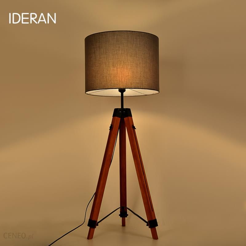 Aliexpress 2 Kolor Drewna Uchwyt Antyczne Salon Badania Lampa Stojąca Lampa Podłogowa Marki Retro Lampa Stołowa Modne Drewniane Kreatywne Biurko