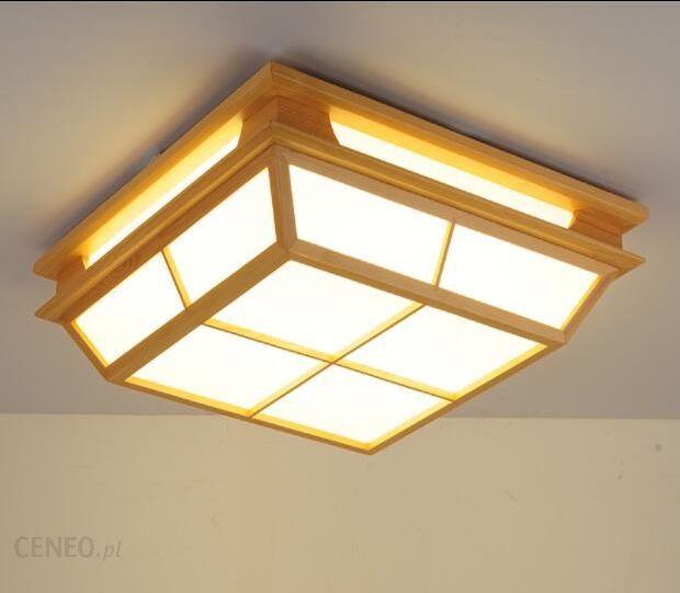 Aliexpress Nowoczesne Wnętrza Japoński Washitsu Dekoracji Lampy Sufitowe Lampy Sufitowe Przedpokój Kryty Japoński Oświetlenie Lampy Z Drewna I Papieru
