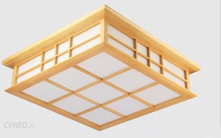 Aliexpress Nowoczesne Japoński Tatami Decor Lampy Drewniane Lampy Sufitowe Washitsu Dla Przedpokój Salon Kryty Lampa Latarnia Oświetlenie Placu