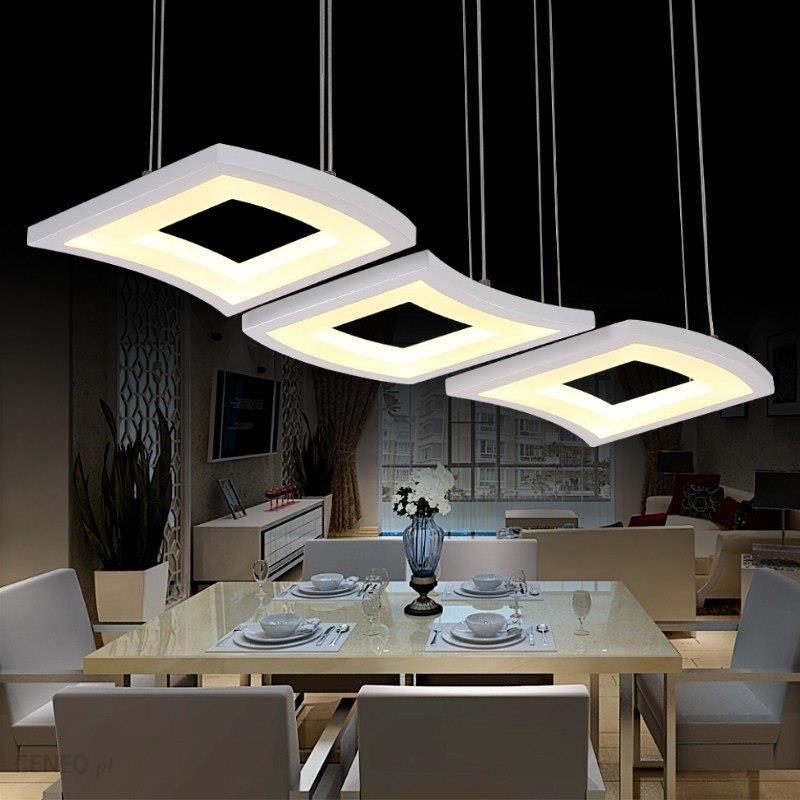 Aliexpress Moda 3 Głowy Doprowadziły Wisiorek światła Regulowany Jadalnia Hali Salon Wiszące Lampy Restauracja Cafe Bar Ponad Stół Oświetlenie