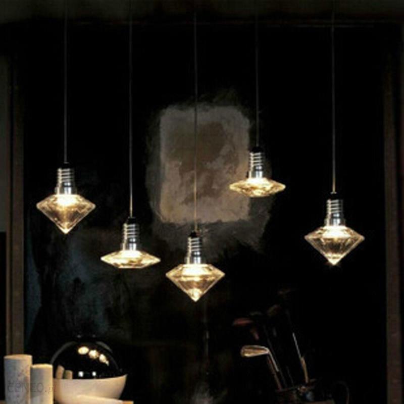 Aliexpress Art Deco Nowoczesne Wiszące Jasne Szkła Kryształowego Wisiorek Przewód Lampy Led Gu10 Dla Jadalnia Kuchnia Gabinet Badania Bar Cafe Salon
