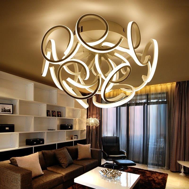 Aliexpress Nowoczesna Nowe Lampy Led Lampy Sufitowe Akrylowe Sypialnia Salon Kuchnia Plafondlamp Moderne Luminarias Oprawy Oświetlenia Domu Ceneopl
