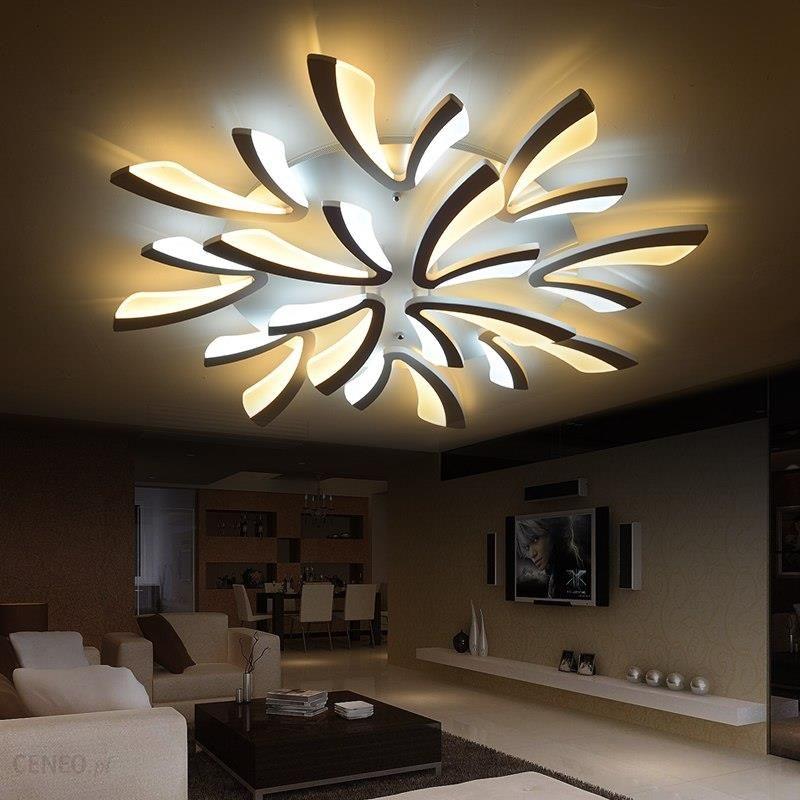 Aliexpress Neo Gleam Akrylowe Grube Nowoczesne Lampy Sufitowe Led Do Salonu Sypialnia Jadalnia Domu Oświetlenie Lampy Sufitowe Oprawy Oświetleniowe