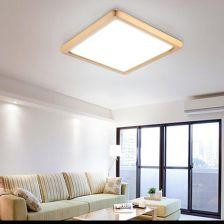 Aliexpress Led Koreański Akrylowe Drewniane Lampy Led Led światła Lampy Sufitowe Lampy Sufitowe Oświetlenie Sufitowe Led Dla Przedpokój Sypialnia Jada