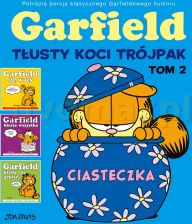 Garfield Tłusty Koci Trójpak (Tom 2) - Jim Davis [KOMIKS]
