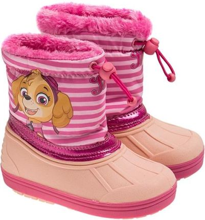 f9e1bfff Śniegowce dziewczęce, Psi Patrol, ocieplane, różowe Smyk.com. Buty zimowe  dziecięceŚniegowce ...