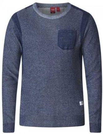 Długi sweter męski rozpinany czarny Denley 0908 Ceny i