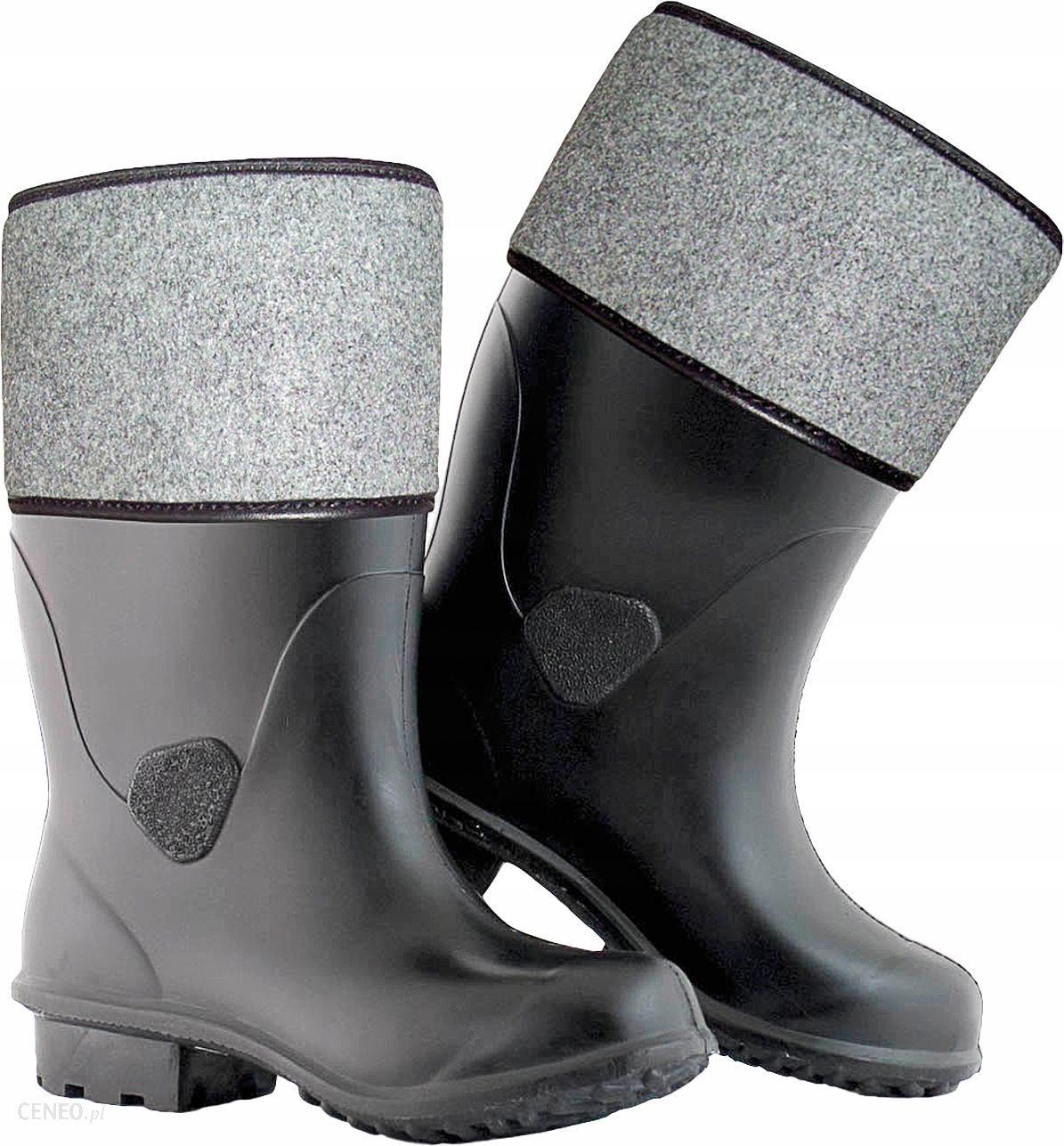 2c3b3a20de3b6 Gumofilce buty filcowe guma Stomil czarne 39-46 - Ceny i opinie ...