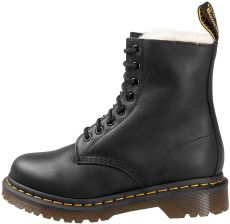 233240af8f744 glany DR. MARTENS - DM 1460 SERENA BLACK BURNISHED WYOMING (DM21797001),  ocieplane
