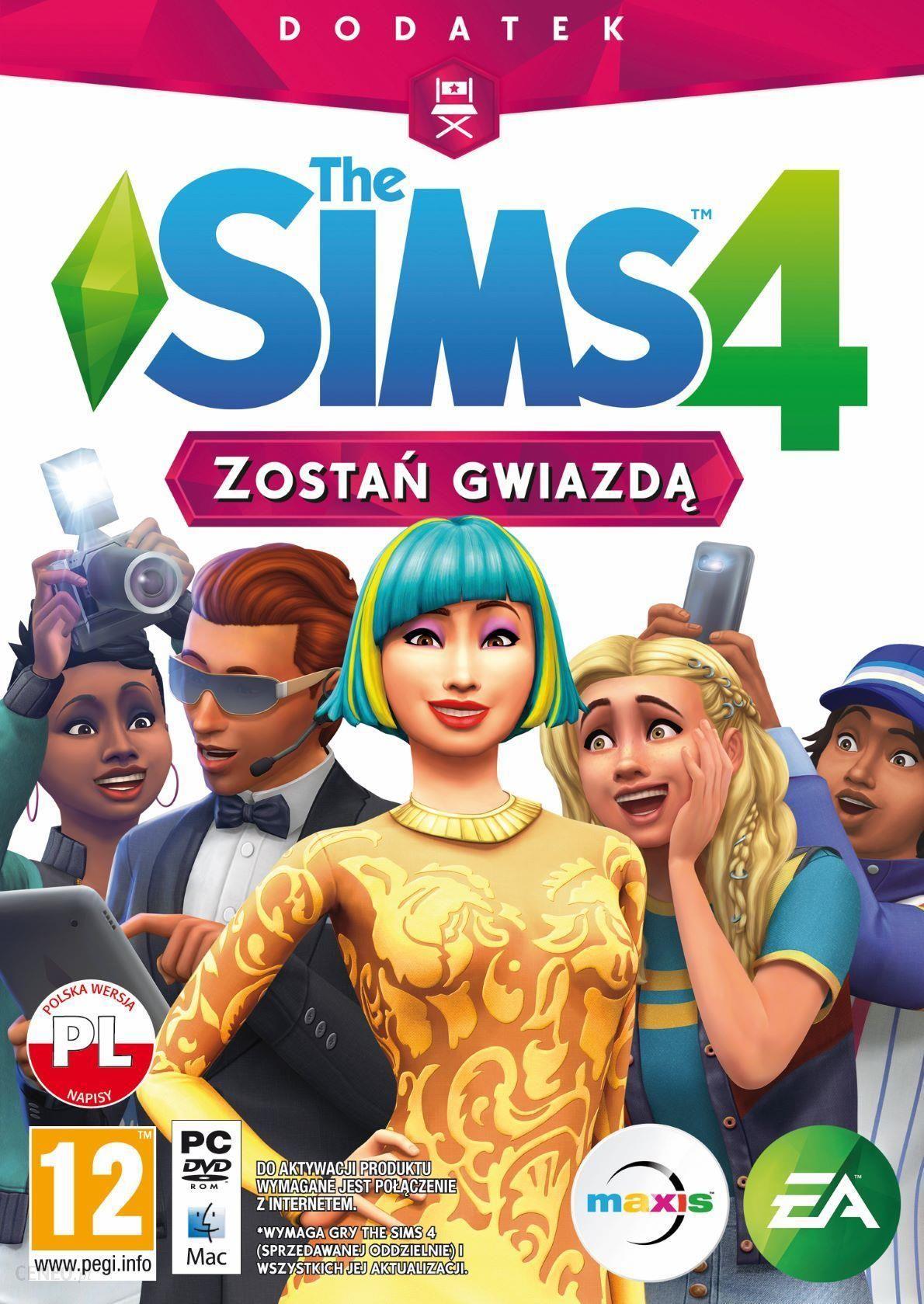 33b662668acc47 Gra na PC The Sims 4 Zostań Gwiazdą (Gra PC) - zdjęcie 1 ...